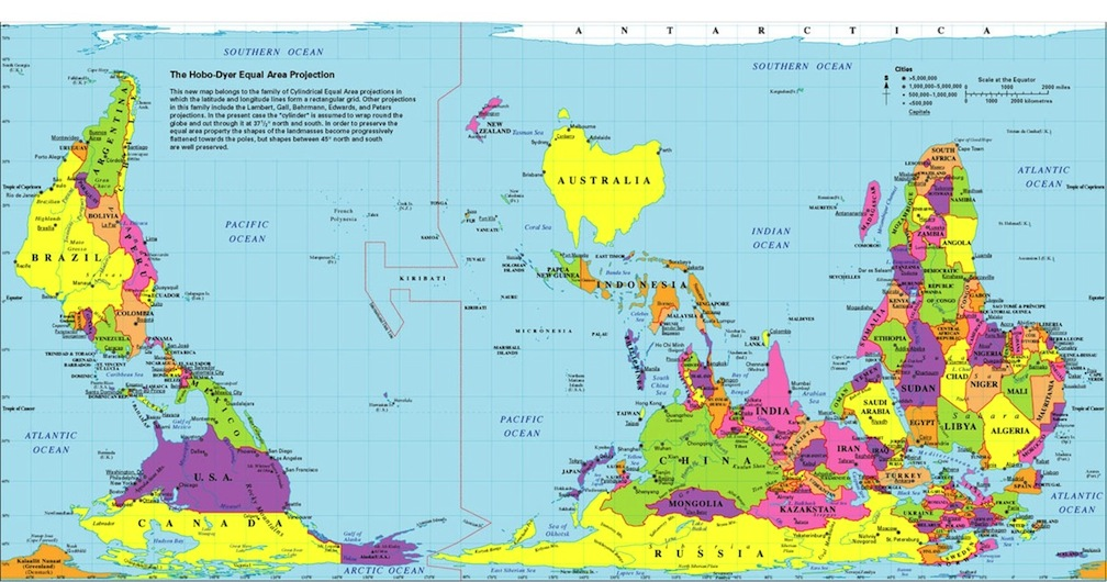 14 maps of the world that put conservation in perspective dr or just upside down australia map gumiabroncs Images