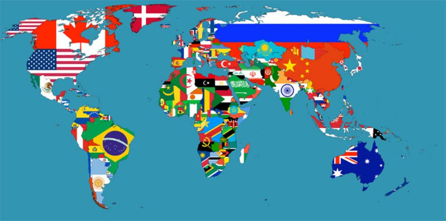 14 maps of the world that put conservation in perspective dr or which continent wins for the most exciting flags my vote is for africa gumiabroncs Images