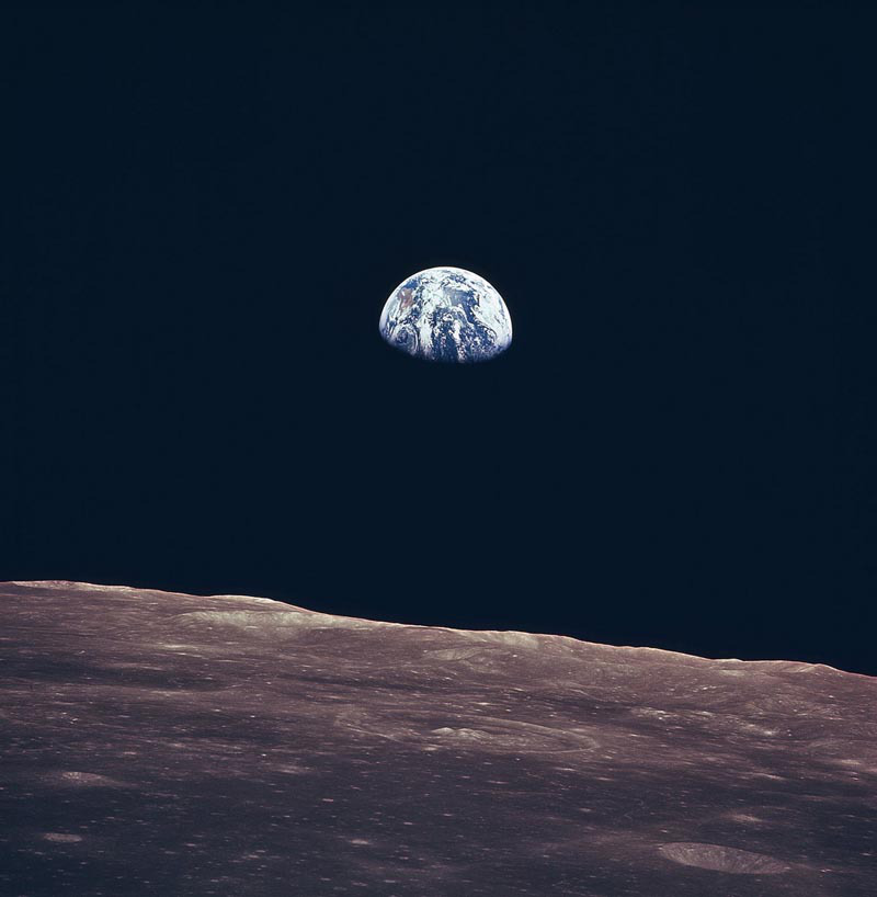 Earth Rise Apollo 11 Nasa