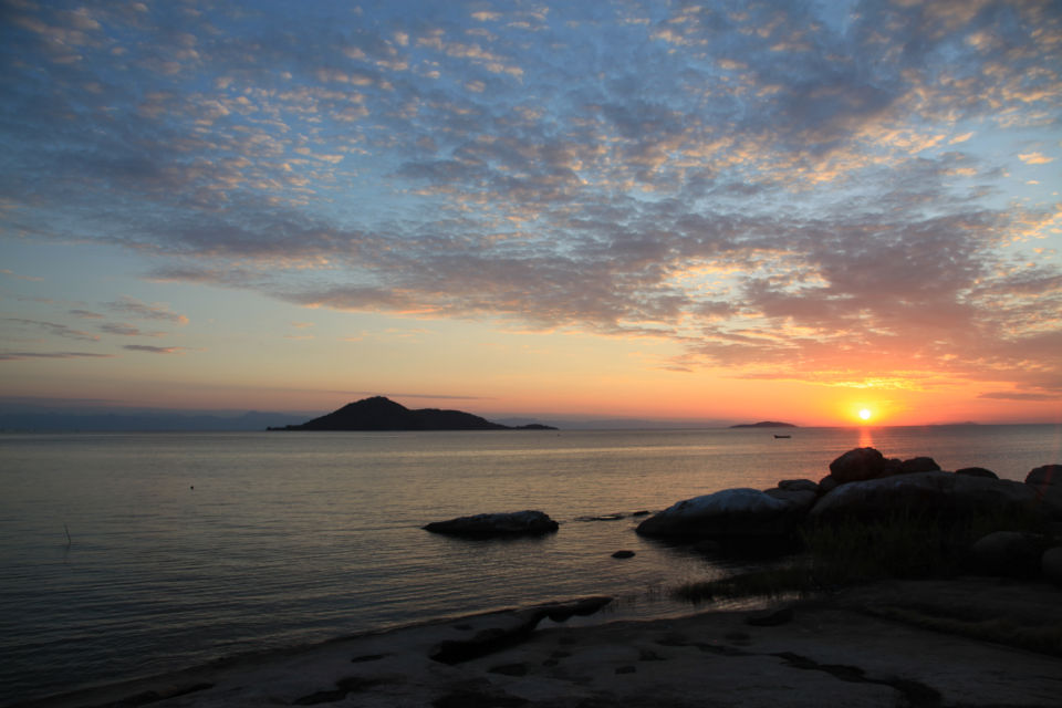 Sunset At Cape Maclear